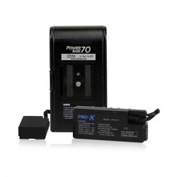Core SWX PowerBase 70 Battery Kit for Panasonic DV, HPX and HVX Camcorders