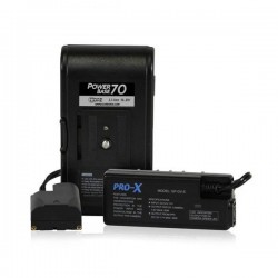 Core SWX PowerBase 70 Battery Kit for Sony L-Series Camcorders