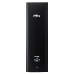 Wise PTS-256 Portable SSD - 256GB with USB 3.1 Type-C