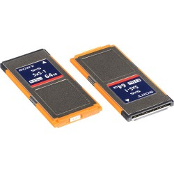Sony 64GB SxS-1 Memory Card - Twin Pack