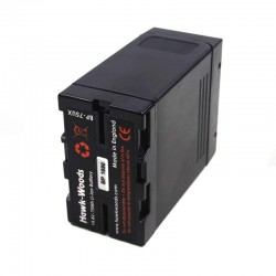 Hawk-Woods BP-75UX 14.4v Direct Sony Replacement BP-U Battery with D Tap - 75Wh