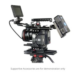 Camtree 19 - 15mm Base Plate With Dovetail Tripod Plate (ARRi Standard)