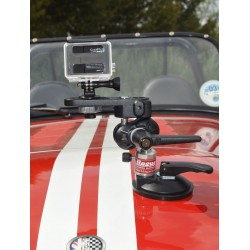 Hague SM90 Car Camera Suction Mount With Double Ball Tilt Head