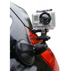 Hague SM90s Car Camera Suction Mount With Ball Tilt Head