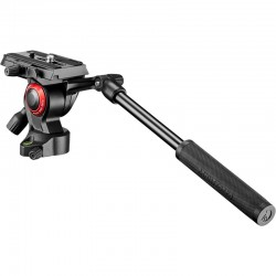 Manfrotto Befree Live Compact and Lightweight Fluid Video Head