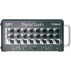 Roland S-0816 8 x 16 Front of House Unit Compact Portable Digital Snake