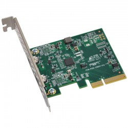 Sonnet Allegro Pro USB 3.1 PCIe Dual-Port SuperSpeed+ USB 3.1 Gen 2 Charging PCIe 3.0 Adapter Card