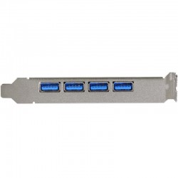 Sonnet Allegro USB3 4 Port 4-port USB 3.0 adapter for Mac and Windows desktop computers with PCIe slots