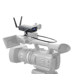 Audio Technica System 10 Camera-Mount Wireless System including lapel microphone