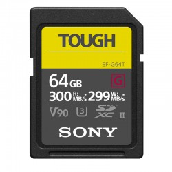 Sony SF-G Series Tough 64GB SD Card 300MB/s SDXC UHS-II