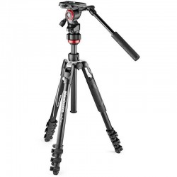 Manfrotto BEFREE Live Aluminium Tripod Lever with Video Head