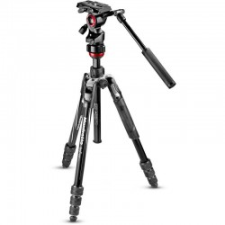 Manfrotto BEFREE Compact Travel Video Tripod Kit