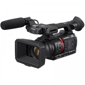 Panasonic AG-CX350 Lightweight 4K/HDR 10BIT REC Camera Recorder with Live Streaming