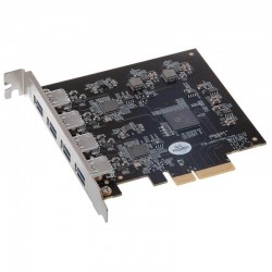 Sonnet ALLEGRO PRO USB3.1 PCIE Professional 4-port Gen 2 Charging PCIe Express Card