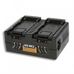 Hawk-Woods 2-Channel Simultaneous Sony NP-F Type Fast Charger