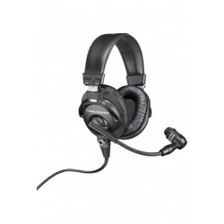 Audio Technica BPHS1XF4 Broadcast Stereo Headset with XLR-4F Cable