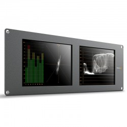 "Blackmagic Design SmartScope Duo 4K Dual 8"" 6G-SDI monitors with waveform analysis"