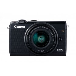 Canon EOS M100 Digital Camera with 15-45mm Lens - Black