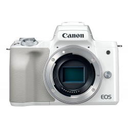Canon EOS M50 4K Mirrorless Camera in White (body only)