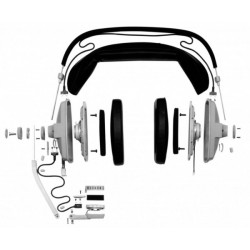 Beyer Dynamic DT109 Grey Double-Side Headset 200/50ohm EXCLUDING Cable
