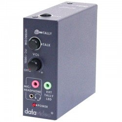 Datavideo ITC-100SL Additional Belt Pack for ITC-100, inc 20M cable 1 x Tally Light & Headset/Mic