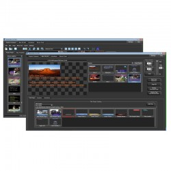 Datavideo TC-350 TC-200 Overlay Box bundled with CG350 Professional Titling Software