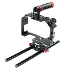 Filmcity Camera Cage for Panasonic Lumix GH4/ GH3 and Sony A7/A7r/A7s