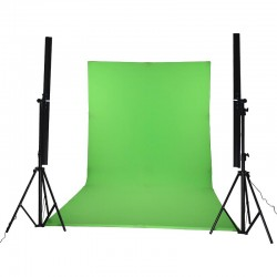 LEDGO LG-2022L Self standing L-Shaped curved green screen