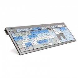 Logickeyboard Smoke - Slim Line PC  Autodesk Smoke Linux / PC Slim Line Keyboard