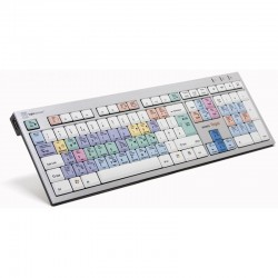 Logickeyboard Vegas Keyboard - PC Magix Vegas PC Slim Keyboard