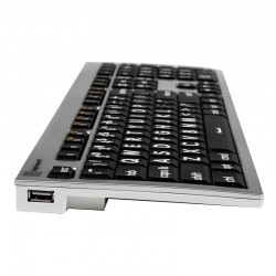 Logickeyboard Extra Large Print Apple Alba keyboard for the Visually Impaired