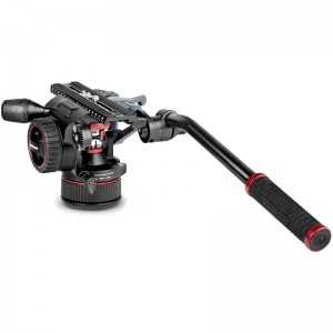 Manfrotto Nitrotech N12 Fluid Video Head With Continuous Counterbalance System