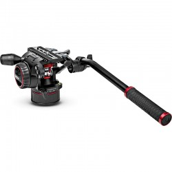 Manfrotto Nitrotech N8 Fluid Video Head With Continuous Counterbalance System