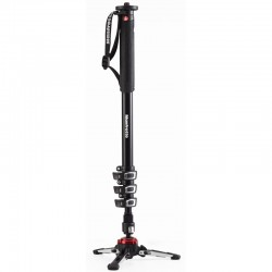 Manfrotto XPRO 4 Section Fluid Video Monopod