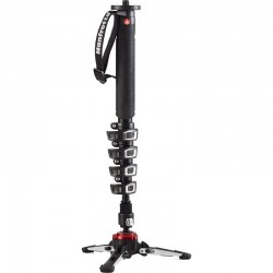 Manfrotto XPRO 5 Section Fluid Video Monopod - Aluminuim