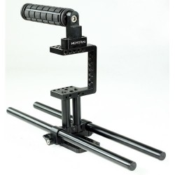 Filmcity Mini Cage with Rod Support For Blackmagic Pocket Camera