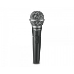 """Audio Technica PRO31QTR Cardioid Dynamic Microphone with Switch and 1/4"""" Jack Lead"""