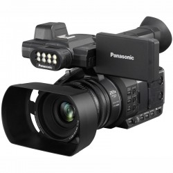 Panasonic AG-AC30 Lightweight 50Mb/s HD camcorder with built-in LED light