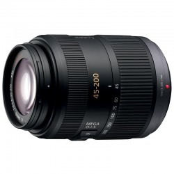 Panasonic H-FSA045200 Lumix Micro Four Thirds Telephoto Zoom 45-200mm f4.0-5.6 Interchangeable Lens