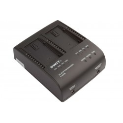 SWIT S-3602B 2-ch Panasonic VW Charger and Adapter