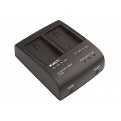 SWIT S-3602J JVC BN-V Twin Battery Charger and Adapter