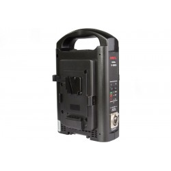 SWIT SC-3802S 2-ch V-mount Battery Charger and Adapter