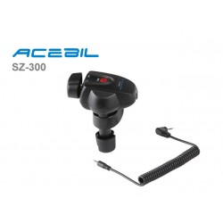 Acebil SZ-300 Lanc Zoom Controller for Canon, JVC, Panasonic and Sony Cameras
