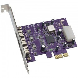 Sonnet Allegro FW800 PCIe 3 Port Firwire 800 PCIe Card