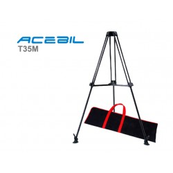 Acebil T35M Tripod legs with mid level spreader - 75mm bowl