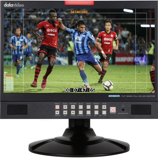 "Datavideo TLM-170L Desktop 17.3"" 3G-SDI Full HD LCD Monitor"