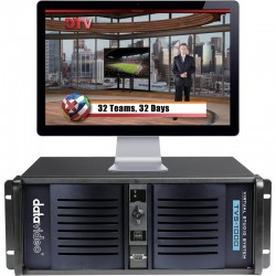 Datavideo TVS-1000A Trackless Virtual Studio System - 1 x HDMI input / output (no Tally control)