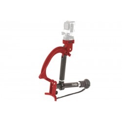 Varizoom VZ-STEALTHYGO Multi-Use Support Tripod and Stabilizer - Red