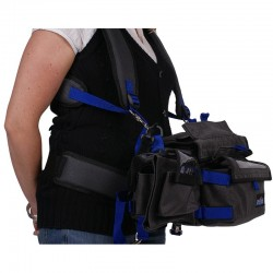 camRade  audioStrap Deluxe Extra padded shoulder strap and waist belt for an audio case