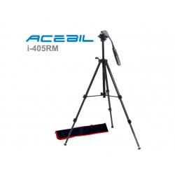 Acebil i-405RM Video Tripod with Zoom Pan Bar